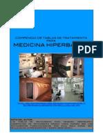 Compendio de tablas de tratamiento para medicina hiperbárica