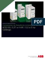 ACS150 ABBcomponent+Drives Catalog REVD PT