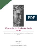 Il Trecento Da Dante Alle Rivolte Sociali