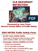Vehicle Occupant Protection