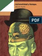 Personas, Racionalidad y Tiempo - Derek Parfit RECONOCIDO