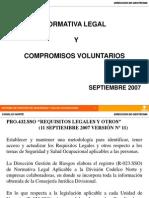 Normativa Legal SSO