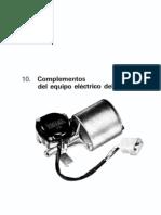 10 - Curso de Electric Id Ad Del Automovil - Equipo Electrico Auxiliar