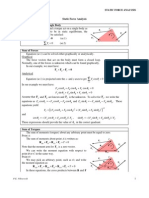 Linkage 25-Static Force Analysis