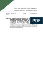 Clases Instituciones y Procedimientos Del Derecho Familiar