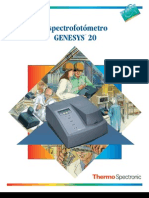 Manual Del Espectronic Genesys 20 Modelo 4001