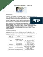 PROGRAMA DE INTERNADO MEDICO ESSALUD 2012