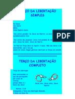 TERÇO DA LIBERTAÇÃO SIMPLES
