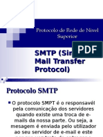 Protocolo de Rede de Nivel Superior SMTP