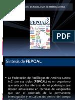 Presentación FEPOAL - Podoscopio México