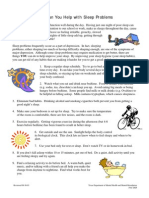 Cum Poti Ajuta Cu Problemele de Somn (Copii 10-12 1ni, Adol,