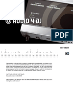 Audio 4 DJ Manual English