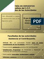 FACULTADES DE COMPROBACION  1º PARTE