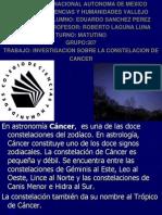 La Nueva Presentacion de La Constelacion de Cancer