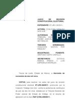 ST-JRC-0026-2011 gastos de campaña - revoca y ordena nueva resolucion