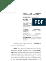 ST-JRC-0074-2011 - gastos de campaña - queja - revoca y ordena nueva resolucion