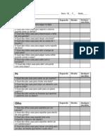 LPQ- questionário de preferencia lateral