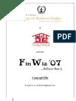 Finwiz Sponsorship Proposal Online