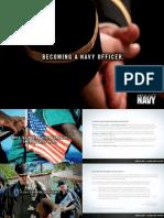 Navy Officer Brochure