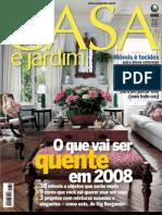 Casa e Jardim - Nº 636 - Janeiro 2008