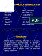 Materiales Para La Construccion