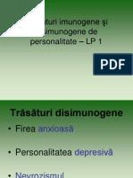 Psihologia sănătăţii şi comunicarea cu bolnavul - LP 1 Partea III 2008