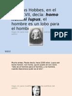 EL HOMBRE ES LOBO DEL HOMBRE