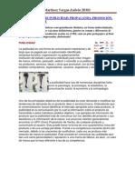 DIFERENCIA ENTRE PUBLICIDAD Y PROMOCIÓN MARTINEZ VARGAS ANDRÉS