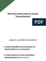 Dramatizacion