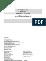Competencias Para La Educacixf3n Primaria en El DF 2005-05