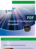 Brosura Centre de Document Are Europeana
