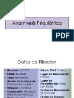 Anamnesis Psiquiatrica