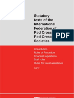 Statutory Texts of the IFRC