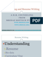Interviewing and Resume Writing