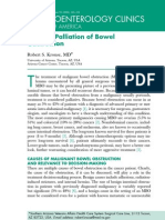 Bowel Obstruction Surgery