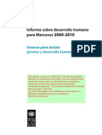 Capitulo 3 Informe Mercosur 2009 a 2010