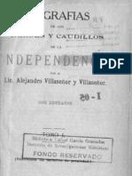 biografiaDeLosHeroesYCaudillosDeLaIndependenciaTOMO I-precursores