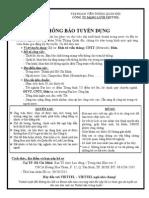 TB Tuyen Dung Nhan Su Viettel