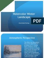 Winter Watercolor Presentation