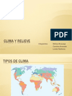 Clima y Relieve New