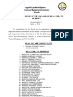 PRC Resolution or Registration of Brokers and Consultans Nov2011