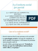 Conducta Social