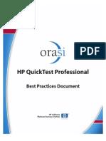 HP QuickTest Professional Best Practices