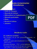 Principales Contaminantes Atmosfericos.