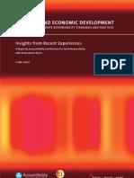 Business and Economic Development - Impact CSR