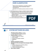 Software Classification Explanation