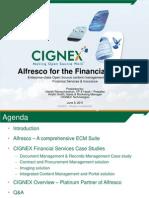 Alfresco for Finance Sector