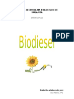 Trabalho Biodiesel