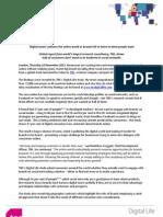 Digital Life Press Release
