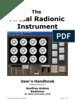 Virtual Radionic Instrument Handbook